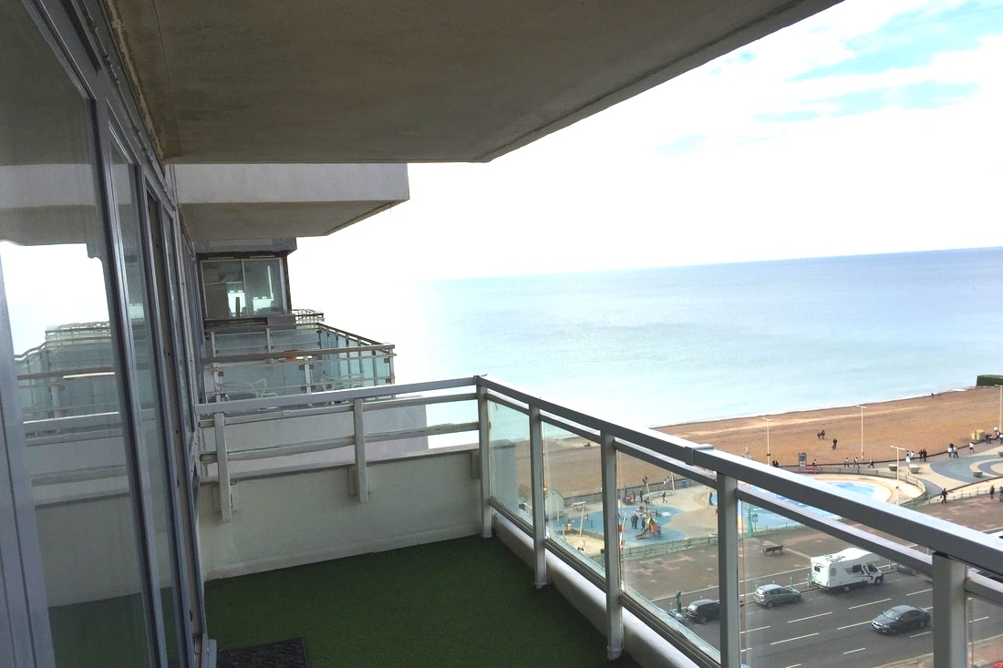 Brighton apartment's view